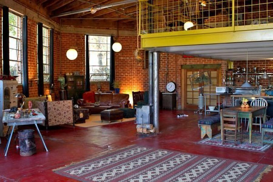 Artists' loft-studio at the Brewery Art Colony in DTLA