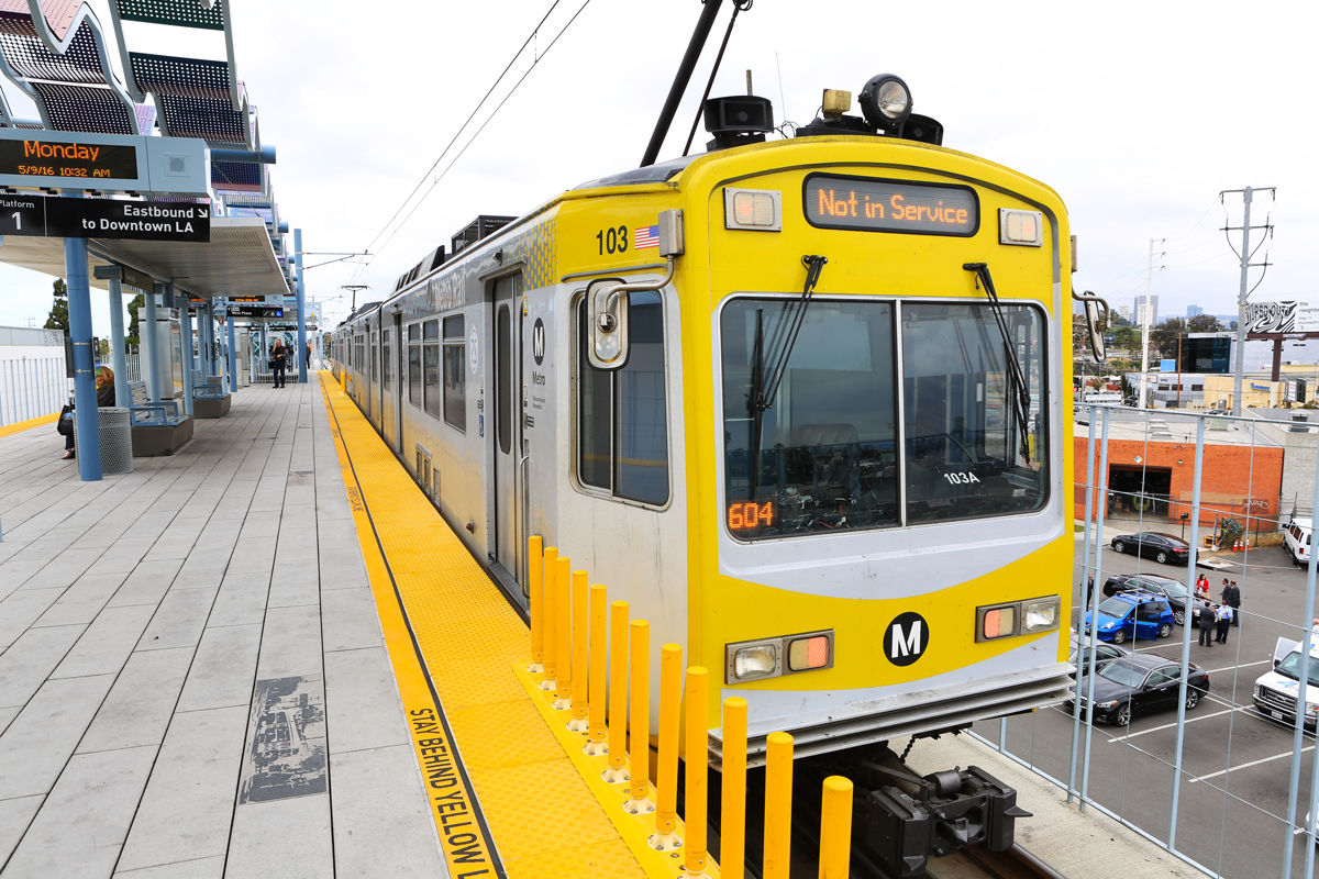 Metro will be celebrating the opening of the Expo Line to Santa Monica Friday and Saturday with free rides and station celebrations.