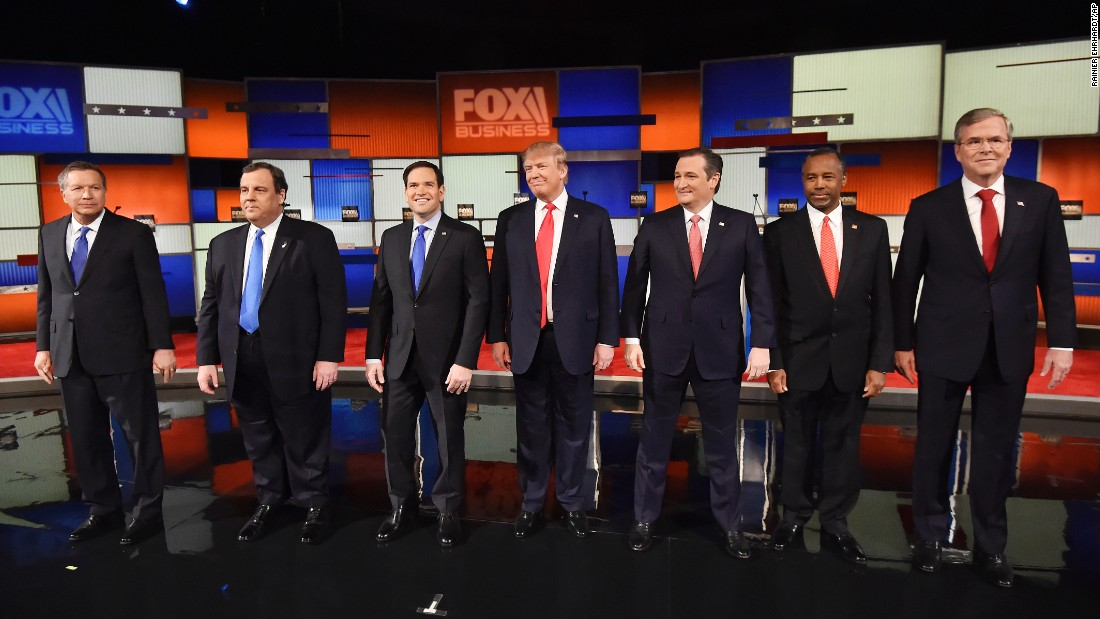 republican debate candidates
