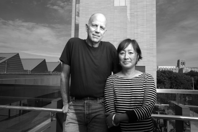 Tod Williams and Billie Tsien, who will lead the design team for the Obama Center in Chicago. (Courtesy Tod Williams Billie Tsien Architects)