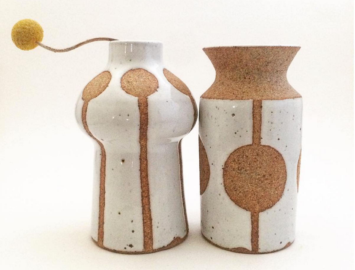 Ceramicist Jen Kuroki's cork pottery will be among the art featured at CLAY LA.