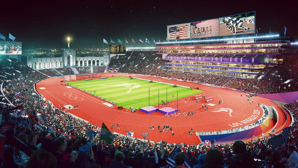 Coliseum 2024 (Photo: Courtesy Los Angeles 2024)