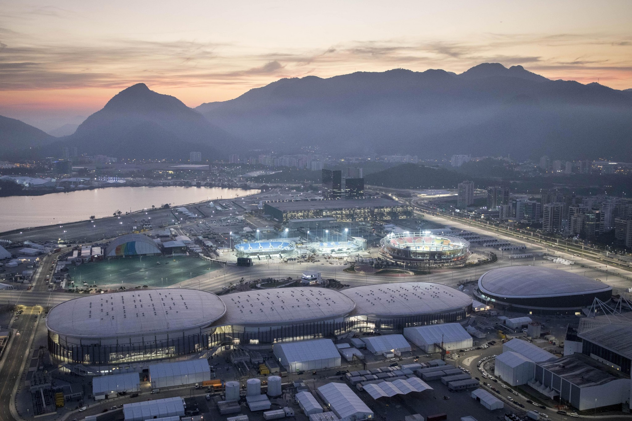 Rio Barra Olympic Park, master planned by AECOM (Photo: Robb Williamson)