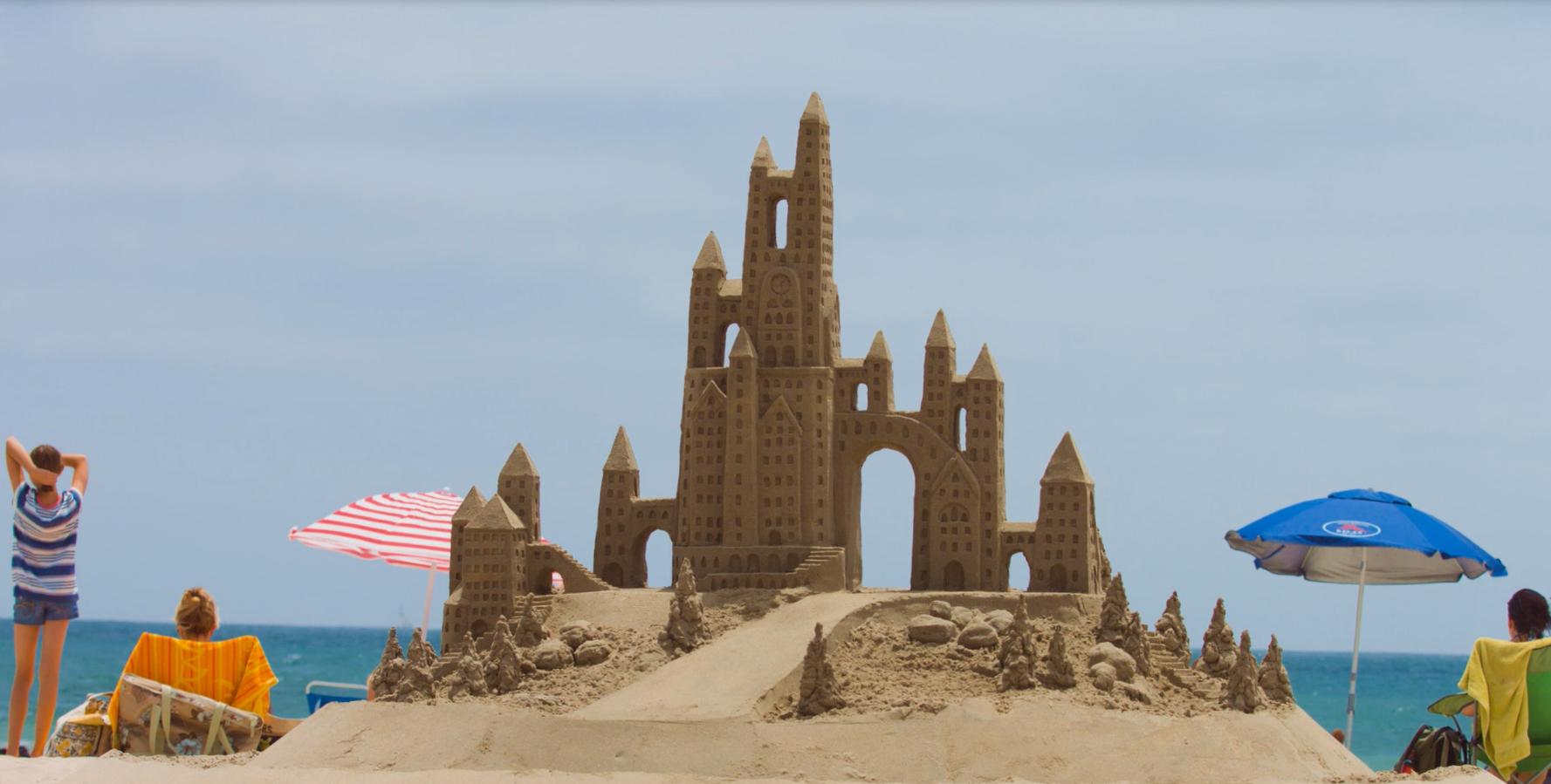 Sand Castle Competition Long Beach Ca