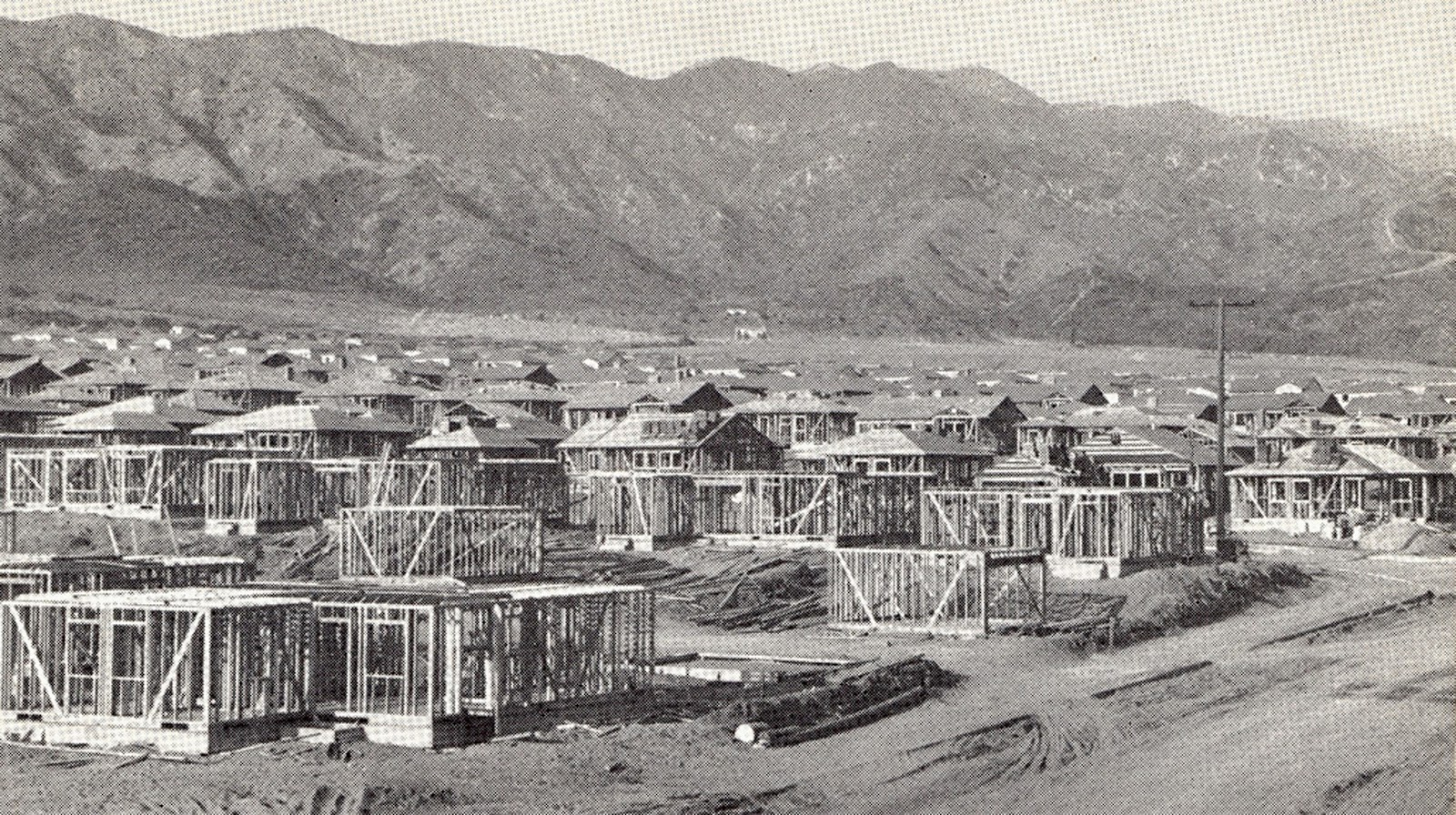 San Fernando Valley housing tract c. 1949