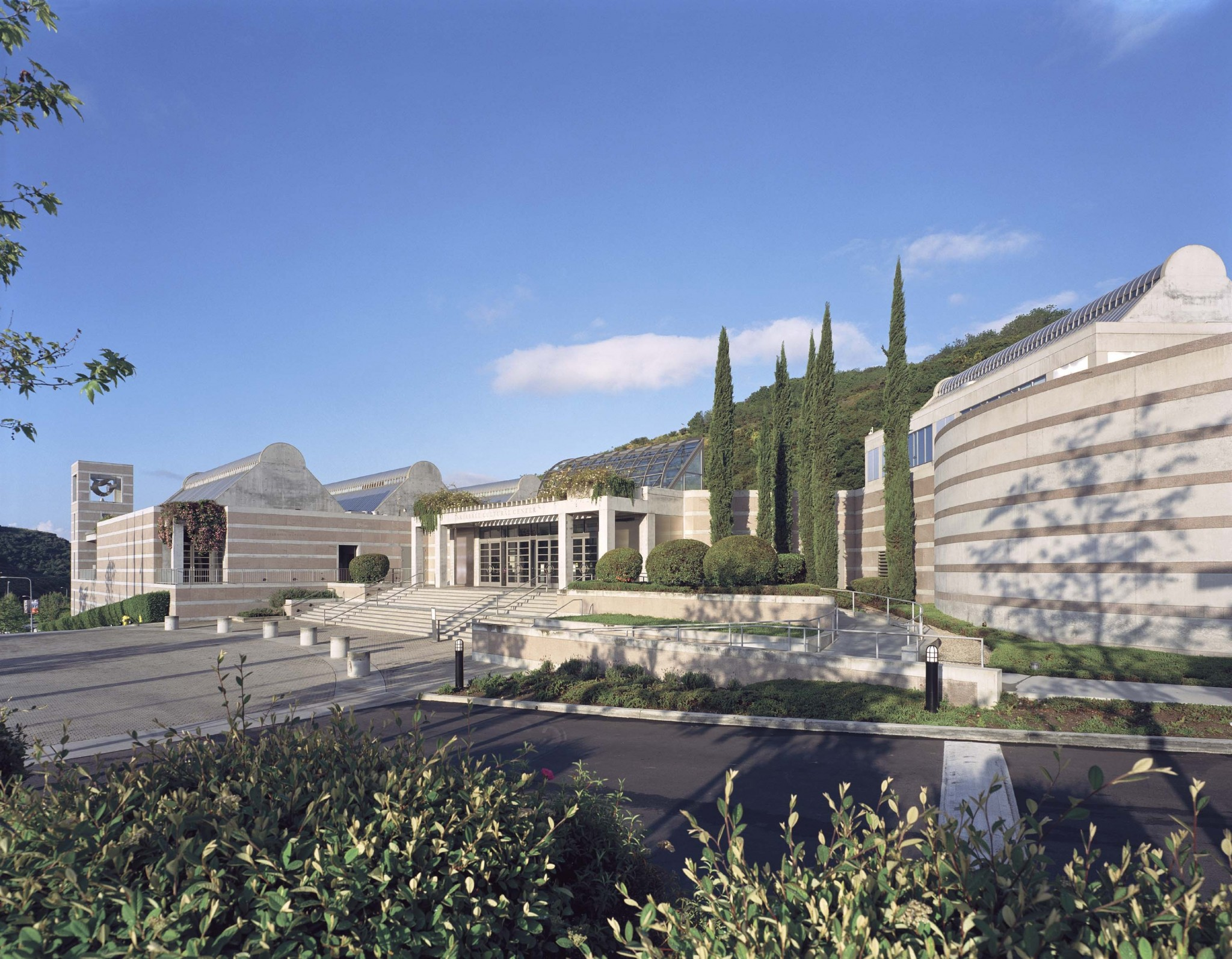 Skirball Cultural Center in the Sepulveda Pass