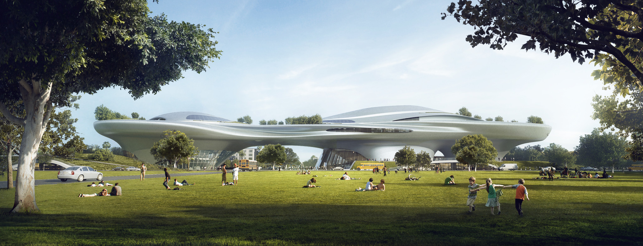 Ma Yansong design for George Lucas museum