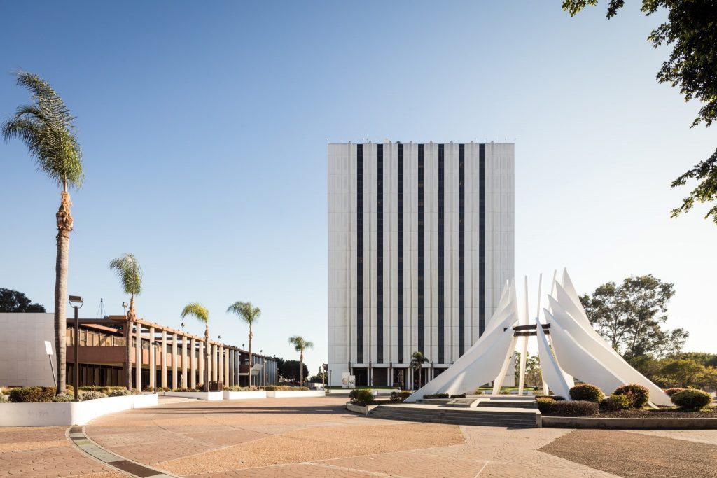 Compton City Hall (photo: Darren Bradley)