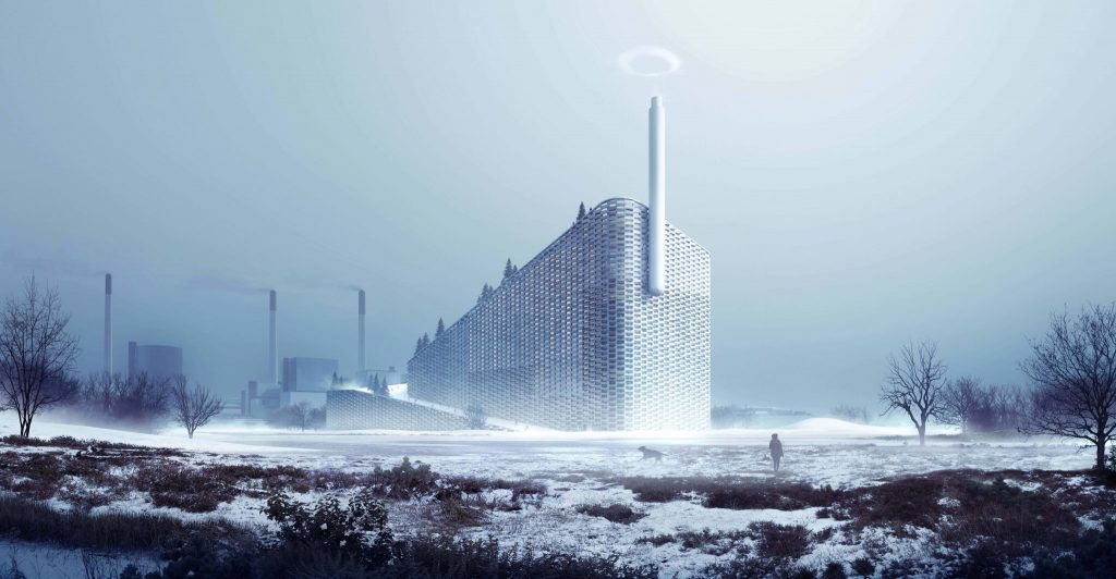Amager Bakke Waste To Energy Plant in Copenhagen_Image by BIG & MIR