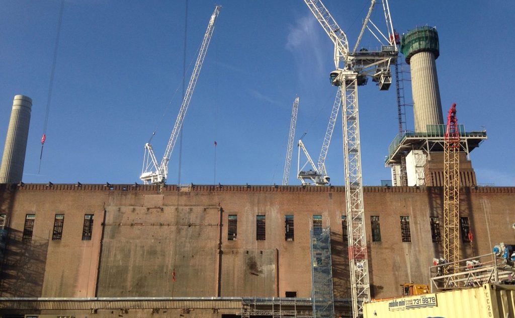 Battersea Power Station, currently undergoing a restoration costing more than $1 billion (photo: Frances Anderton.)