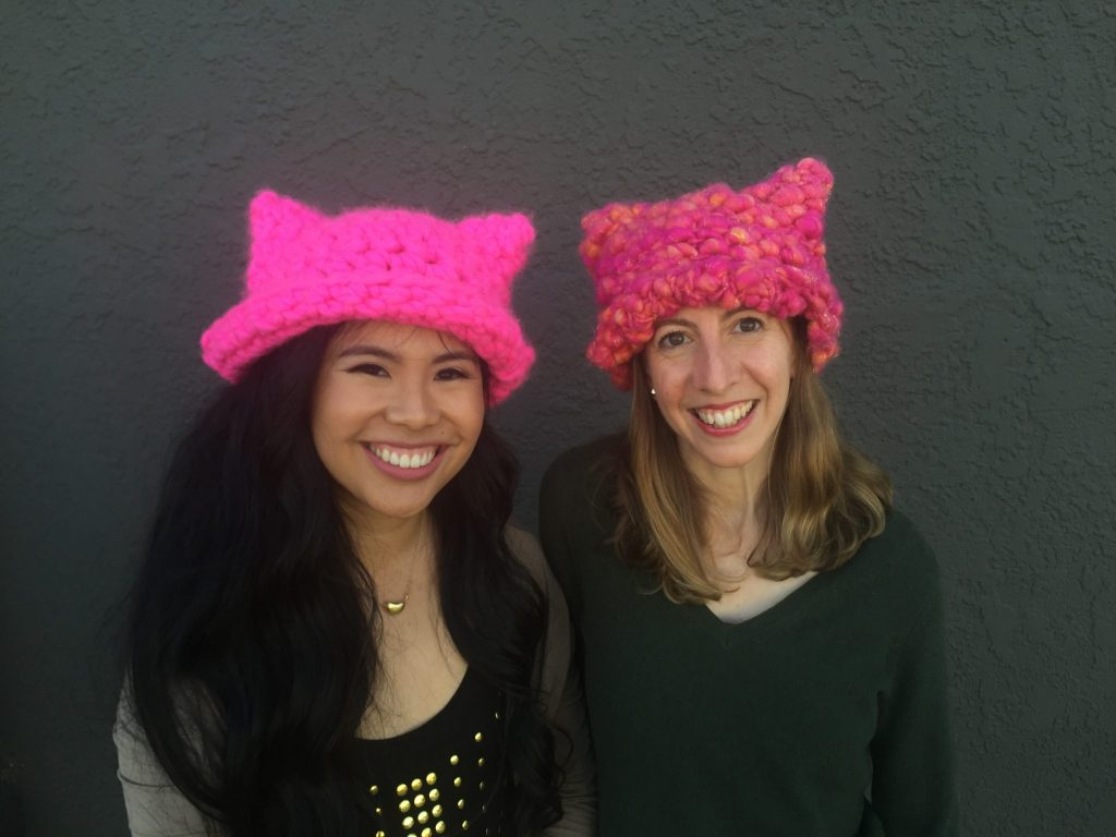 Pussyhat Project Was Made In L A With A Little Inspiration From