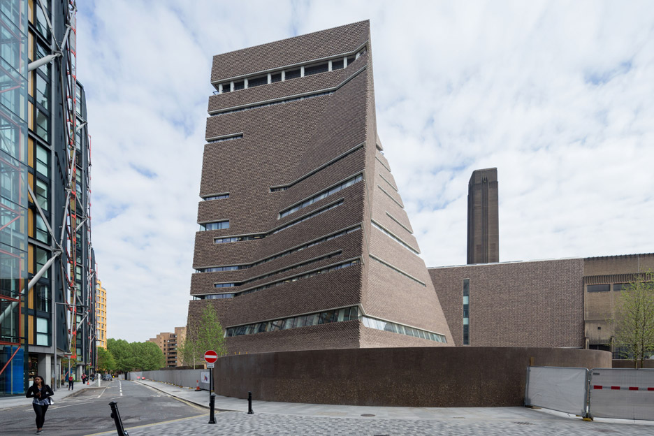 The Switch House, addition to the Tate Modern, by Herzog and de Meuron (photo: Iwan Baan)