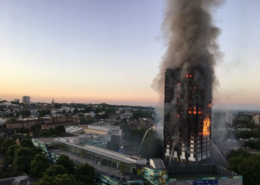 How safe from fire are high rise buildings?