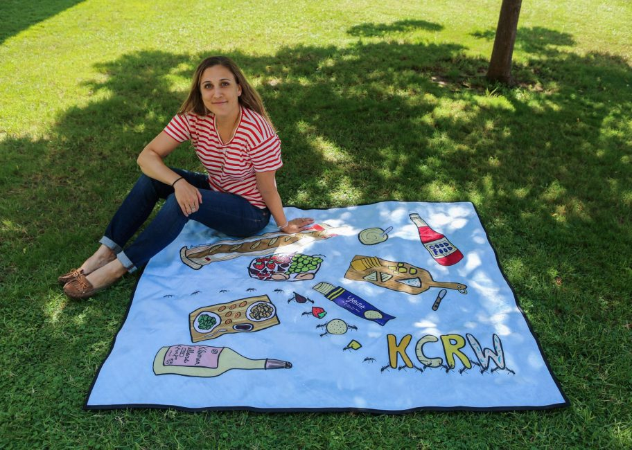 Meet Stacy Michelson, the artist behind the Good Food blanket