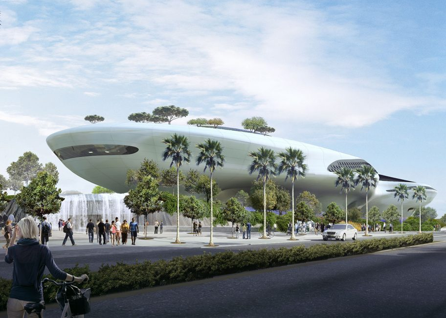 Lucas Museum lifts off in Expo Park