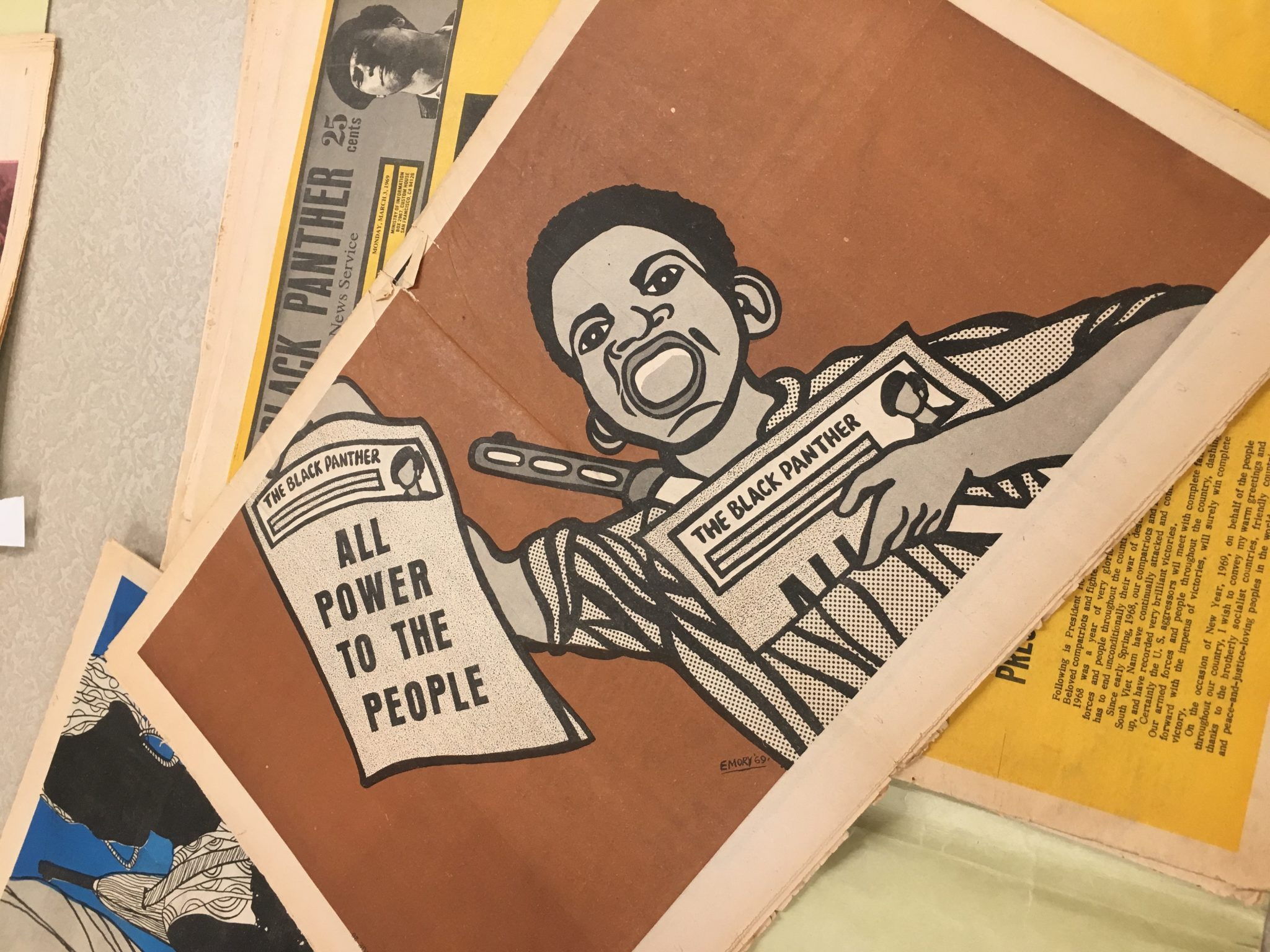 The Revolutionary Art Of Emory Douglas Design Architecture