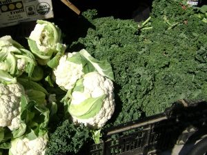 Cauliflower and Kale