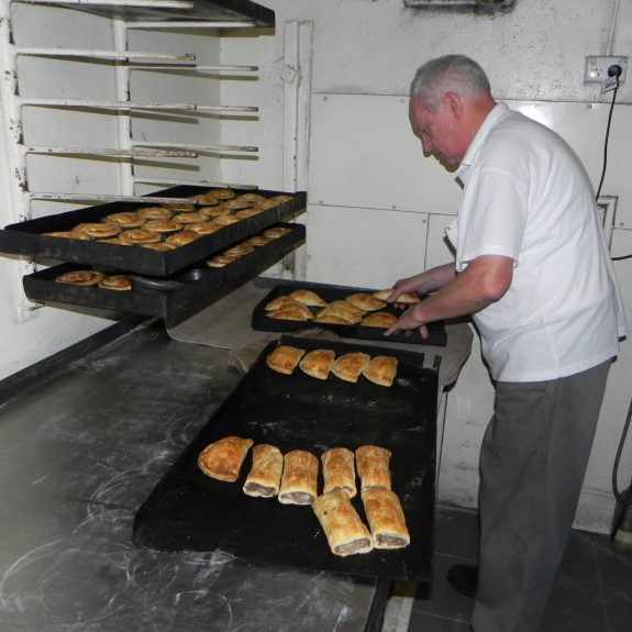 Nipper Makes Pasties and Sausage Rolls