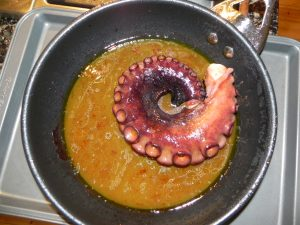 Squid in Olive Oil