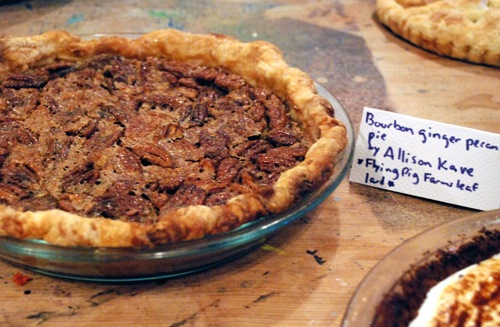First Prize Pie's Bourbon Ginger Pecan Pie | KCRW Good Food