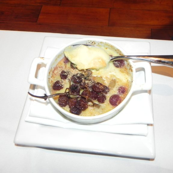 Octavio Becerra's Grape Clafoutis with Epoisses