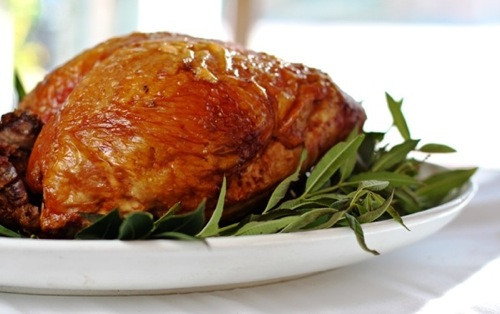 Lemon Verbena Brined Turkey