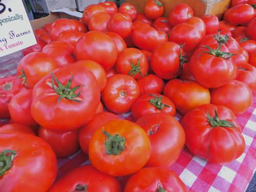 Wong Farms' Hydroponically Grown Tomatoes