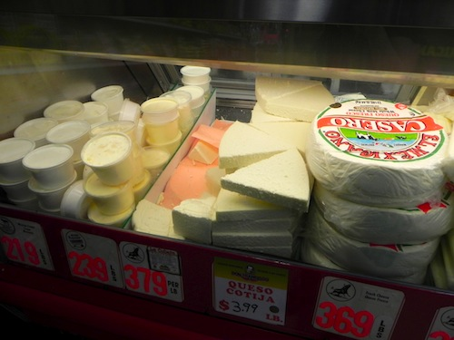 El Toro's Cheese Selection