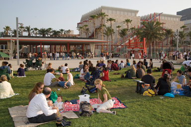 LACMA outdoor campus