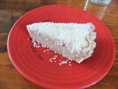 Cafe Gratitude Recipes Coconut Cream Pie