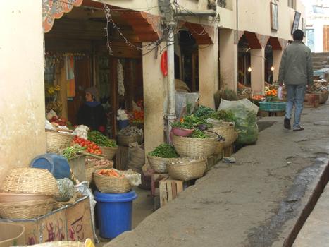 A Market in Bhutan