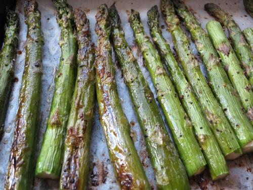 Recipe: Simple Roasted Asparagus   KCRW Good Food