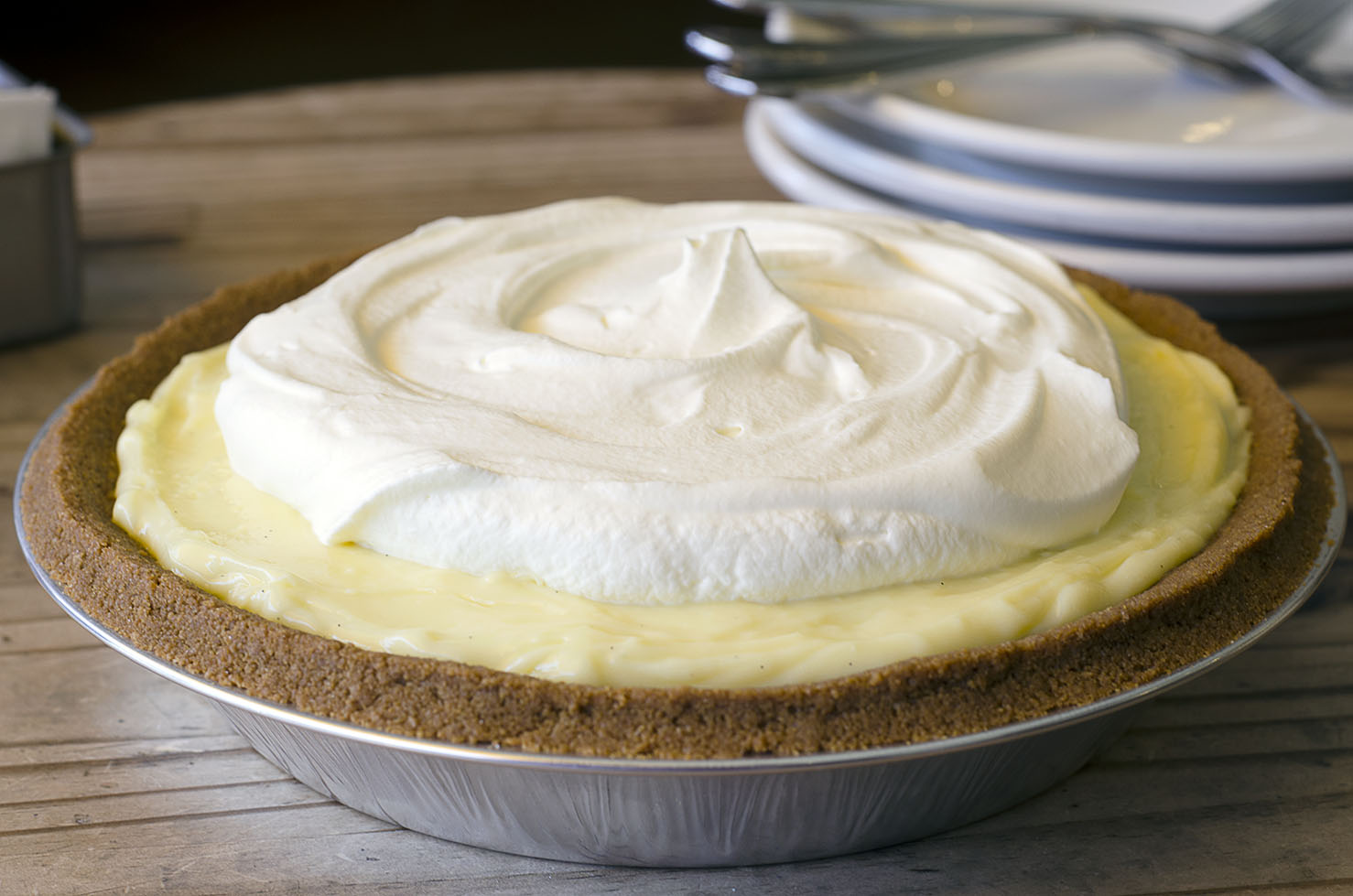 Recipe: Banana Cream Pie with Graham Cracker Crust | KCRW ...