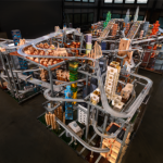 Chris Burden&#039;s Metropolis II. Photo Credit: LACMA