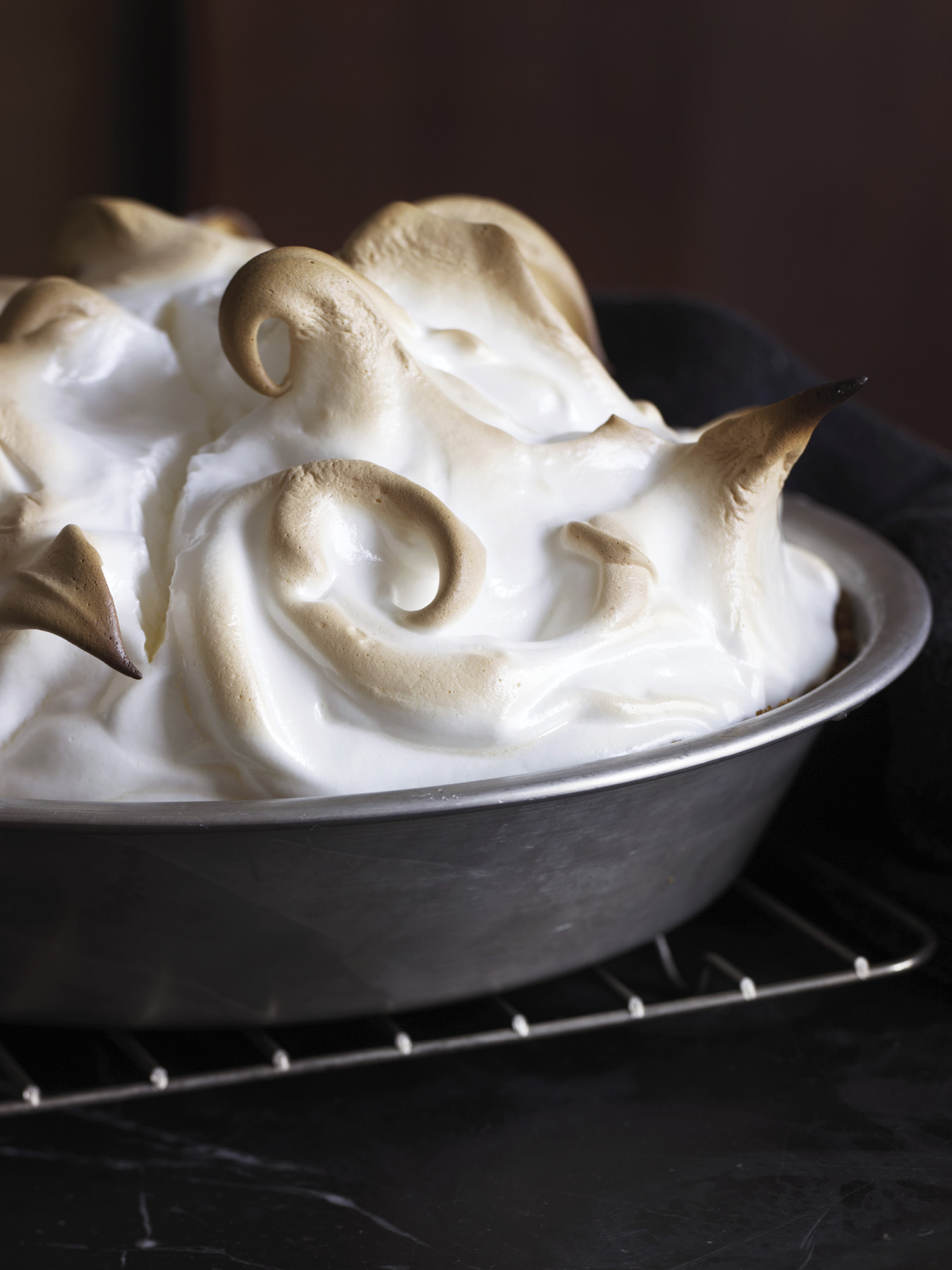 Marshmallow Pie Topping Lime-marshmallow Pie