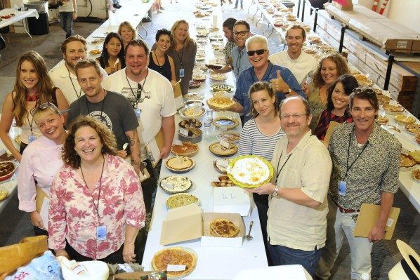 Our fabulous panel of judges tasted over 200 pies.