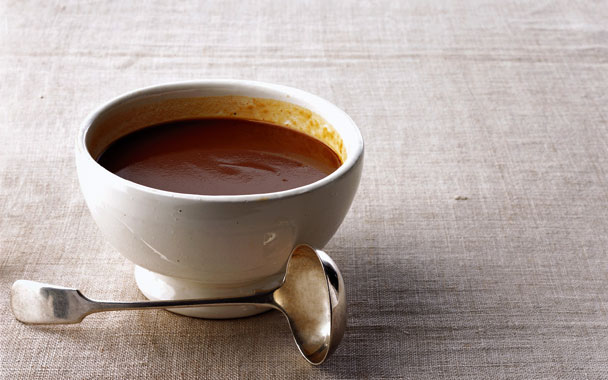 Recipe: Silky Pan Gravy with Cream, Cognac & Thyme | KCRW ...