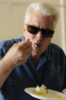huell howser eating pie