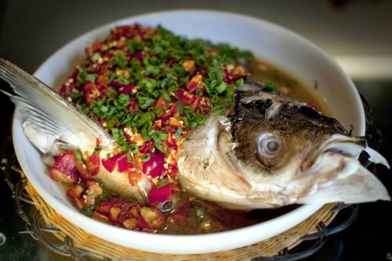 Hunan Mao fish head