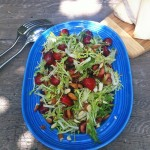 Amelia Saltsman&#039;s Cherry Almond Salad.