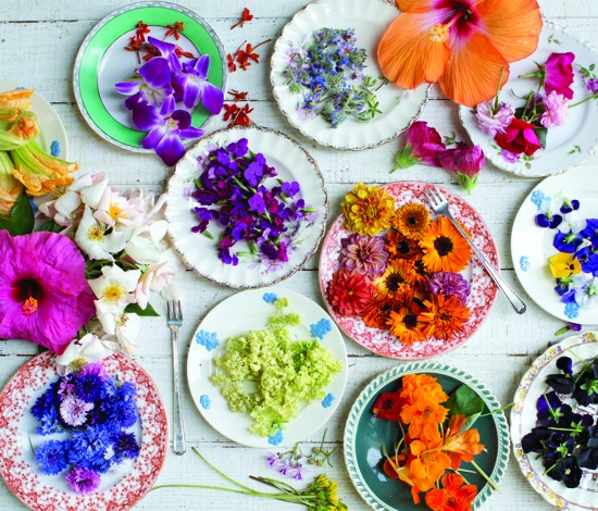 This Week on Good Food: Mother's Day, Cooking with Flowers ...
