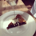 nicole's blueberry crostata