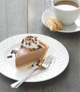 Today's Mocha Ice Cream Pie with Biscotti Crust combines two lovely ...