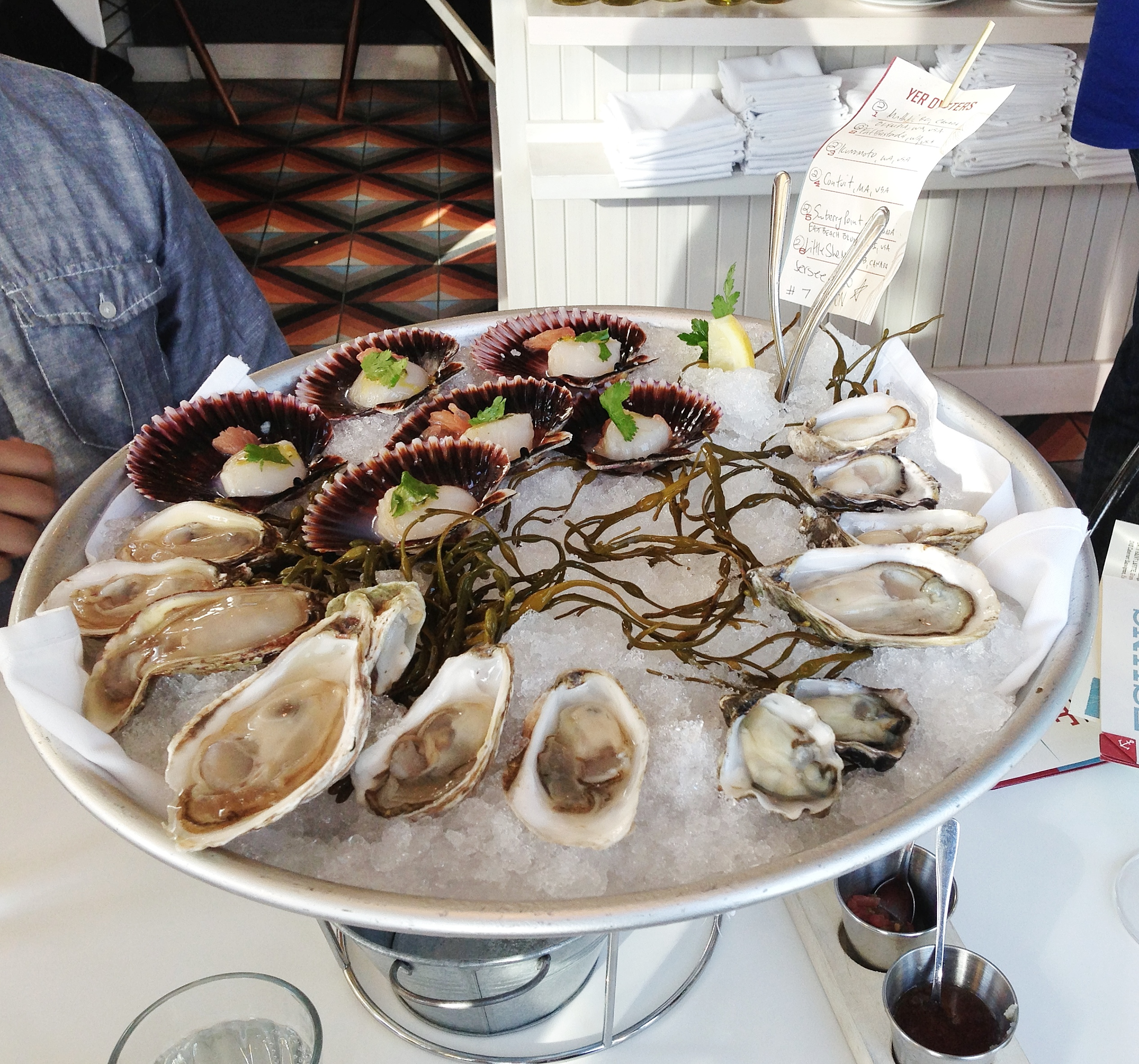 eating oysters - photo #16
