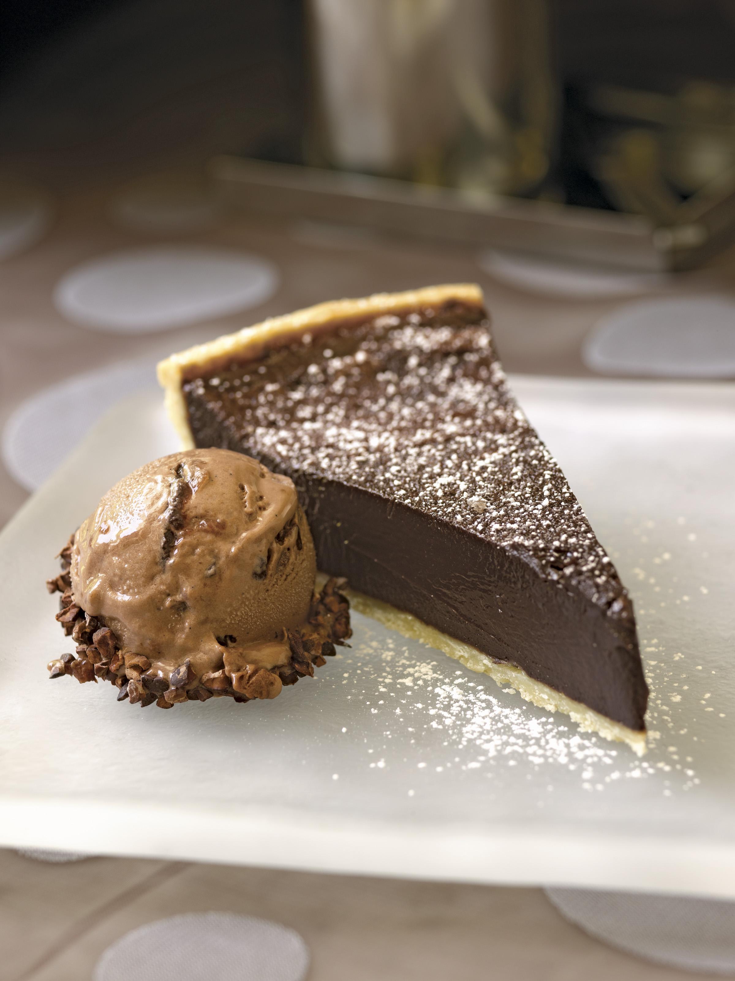 Recipe: Chocolate Bourbon Fudge Tart | KCRW Good Food