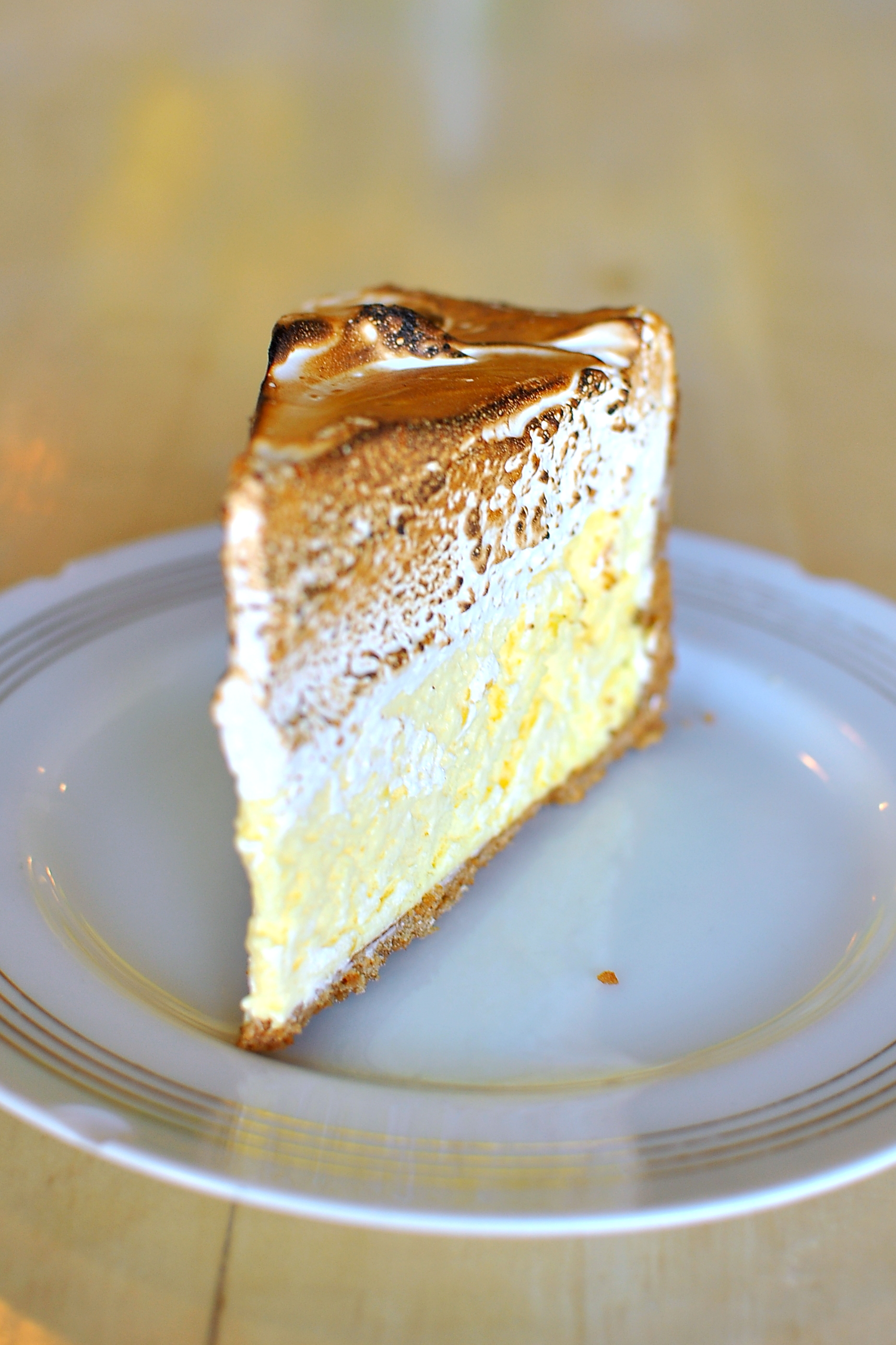 Lange's Lemon Ice Box Pie from The Hart and The Hunter has a lemon ...
