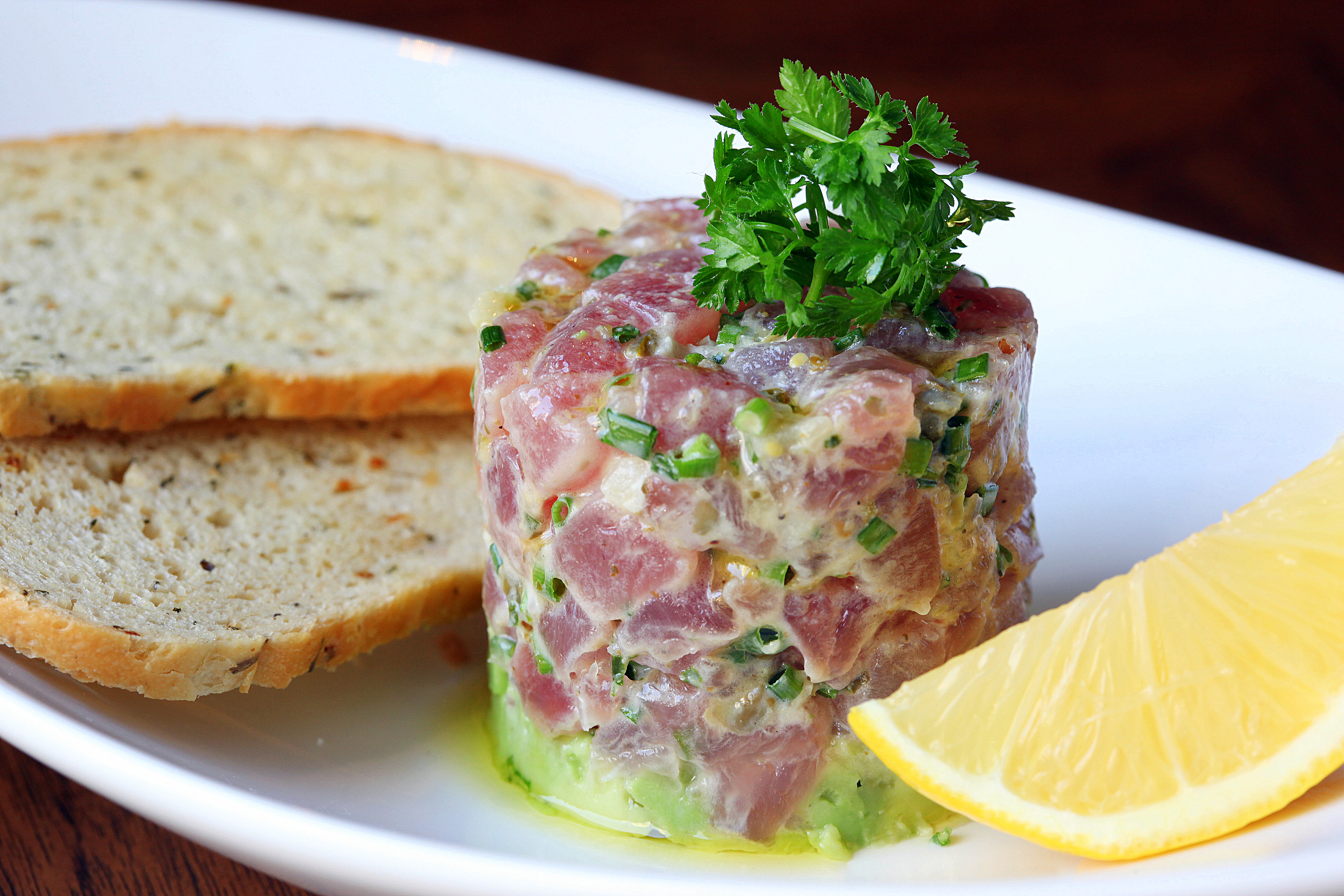 ... Food: The Origins of Tuna Tartare, Basque Style Wines, Handmade Udon