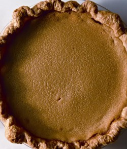 maple buttermilk custartd pie