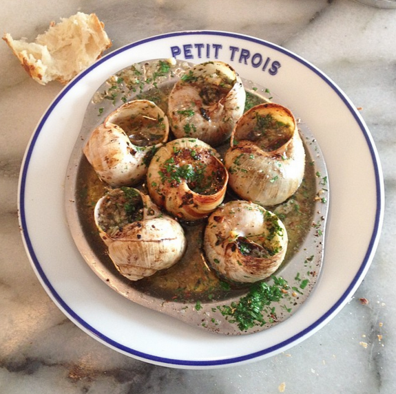 The escargot at Petit Trois made Jonathan Gold's Best Dishes of 2014