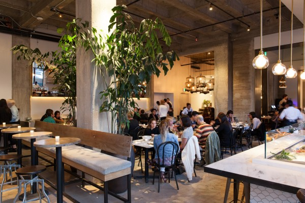 Jonathan gold reviews cassia in santa monica kcrw good food for Food bar santa monica